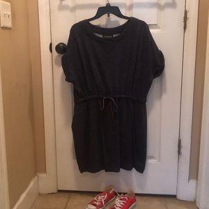 Lane Bryant sporty thin sweat shirt dress